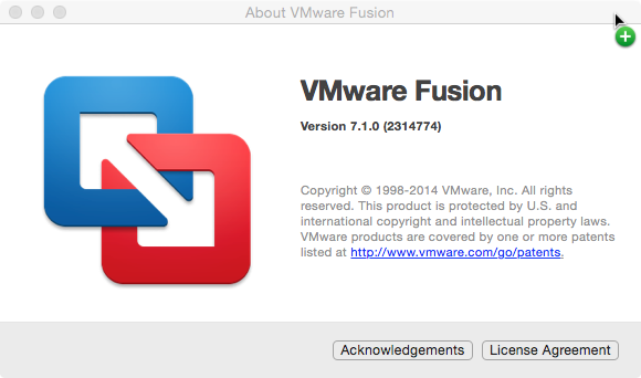 Installing Windows 10 Technical Preview using VMware Fusion on Mac